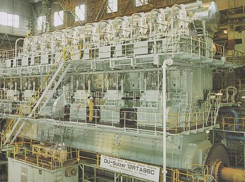 Emma Maersk Wartsila Sulzer RTA96-C / Engine