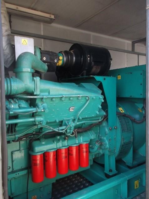 1250 KW Cummins Super Silent Enclosed Diesel Power Packages