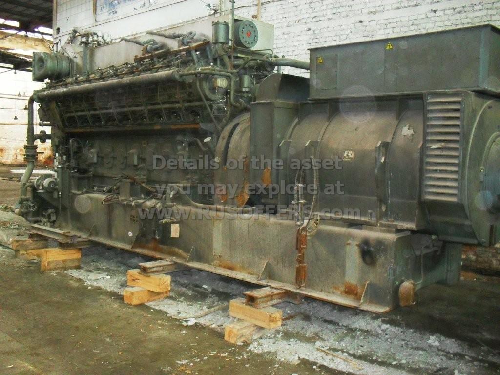 6MWe MAN B&W 18V20/27DG x4 Surplus new Pre-owned Power plant Dual fuel - Diesel or Natural gas 1999y 6300V 50Hz