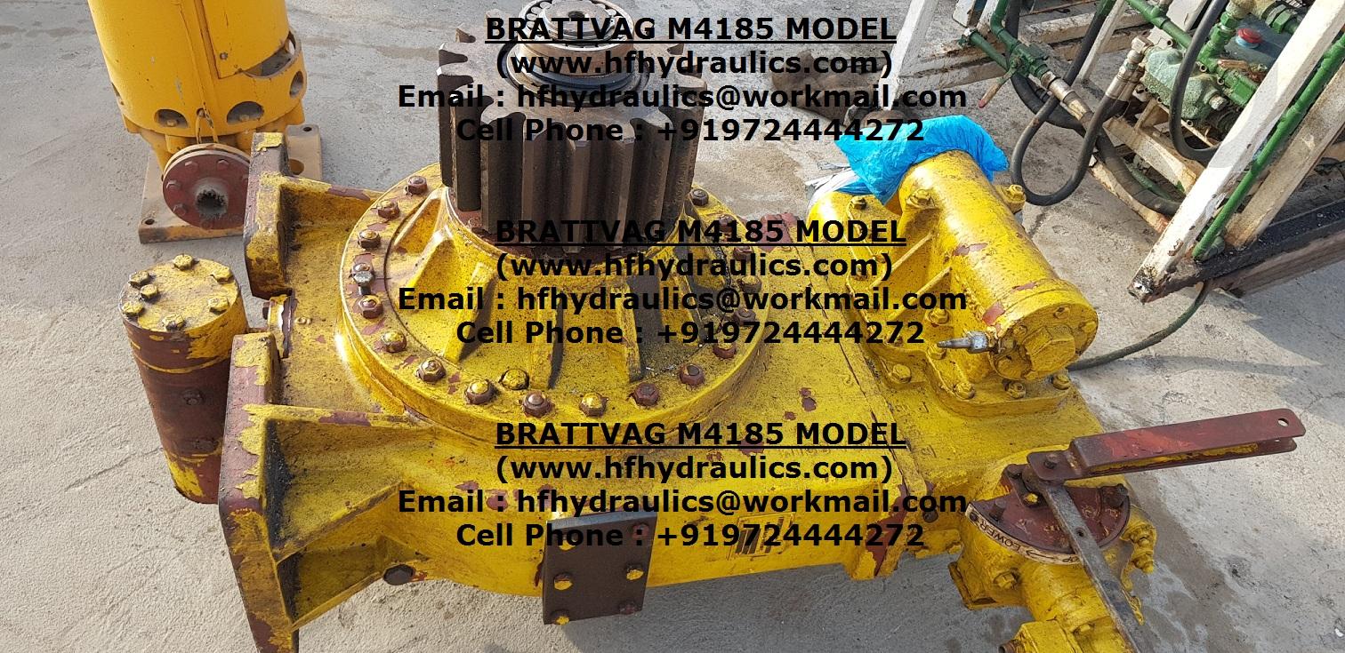 BRATTVAG M4185 MODEL WINCH HYDRAULIC MOTOR (HF HYDRAULICS, INDIA)