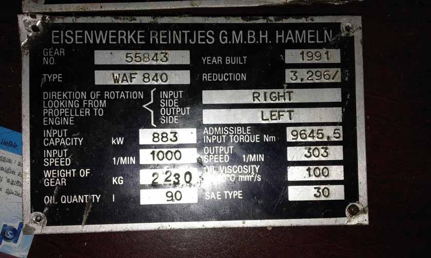 For Sale : WARTSILA DIESEL 6R22MD-D x 2 Unit Complete Engine ( Vasa