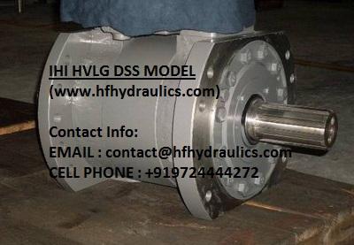 IHI HVLG & IHI HVLG DSS MODEL HYDRAULIC MOTOR (HF HYDRAULICS, INDIA)
