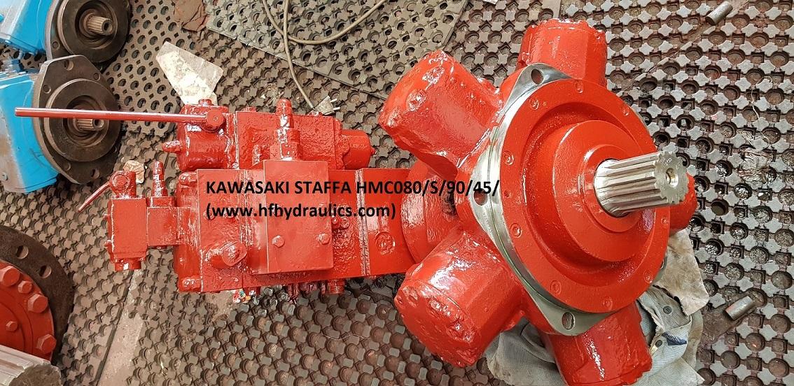 KAWASAKI STAFFA HYDRAULIC MOTORS HMC080/S/90/45/FM3 (HF HYDRAULICS, INDIA)
