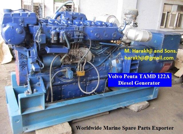 Volvo Penta TAMD 122A Diesel Generator for Sale